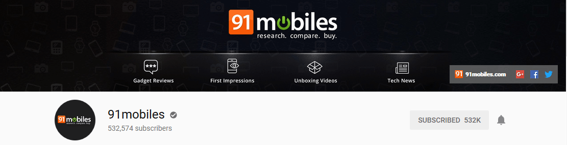 91mobiles-youtube-channel-tech