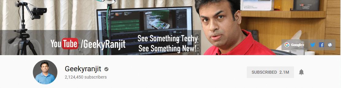 geeky-ranjit-youtube-channel-tech