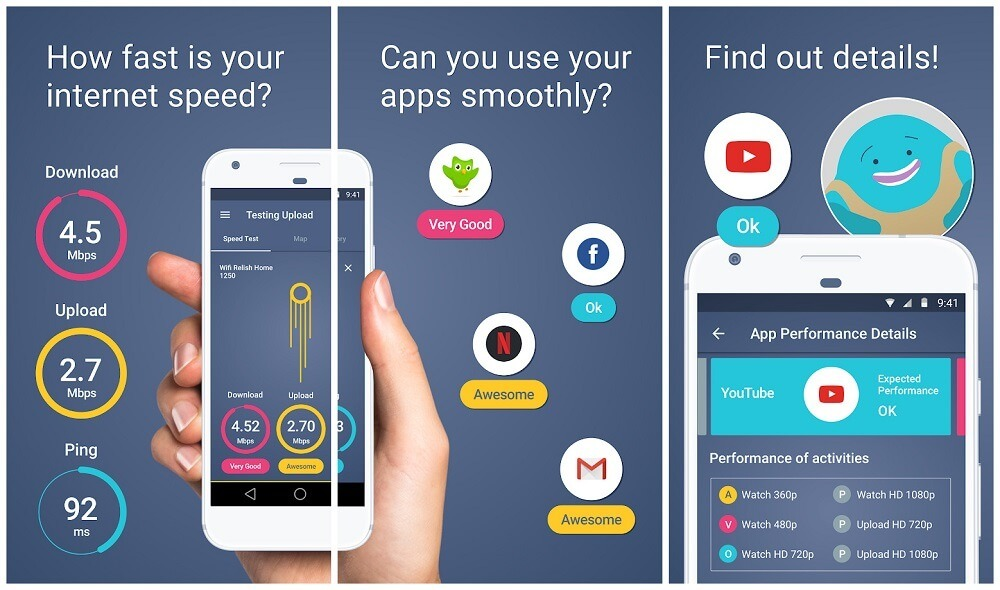 meteor-internet-speed-android-app