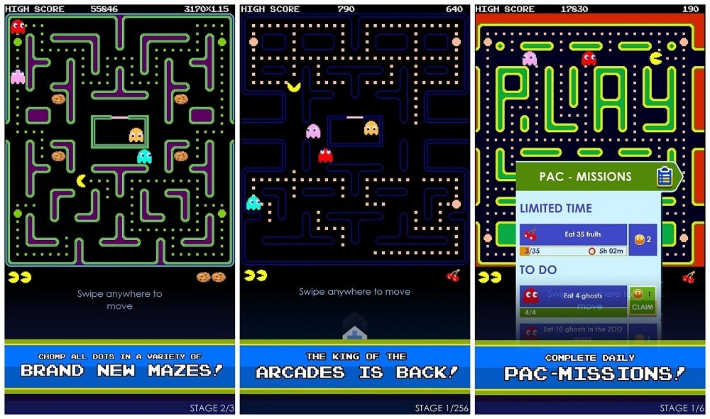 pac-man-android-game