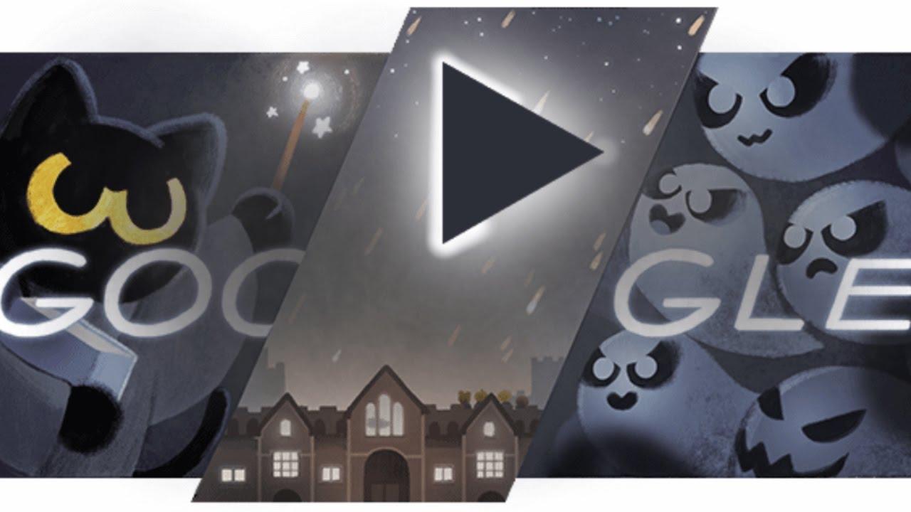 google-doodle-halloween-game