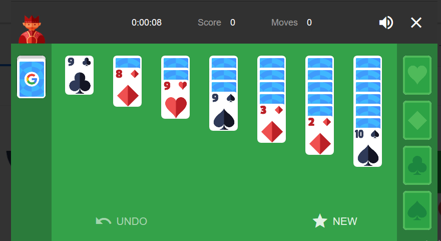 solitaire-google-game