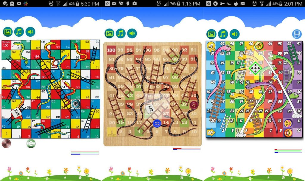 snakes and ladder android game