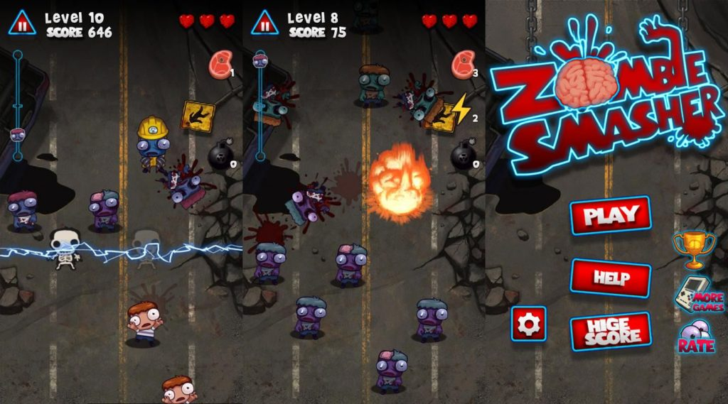 Zombie Smasher 5mb games
