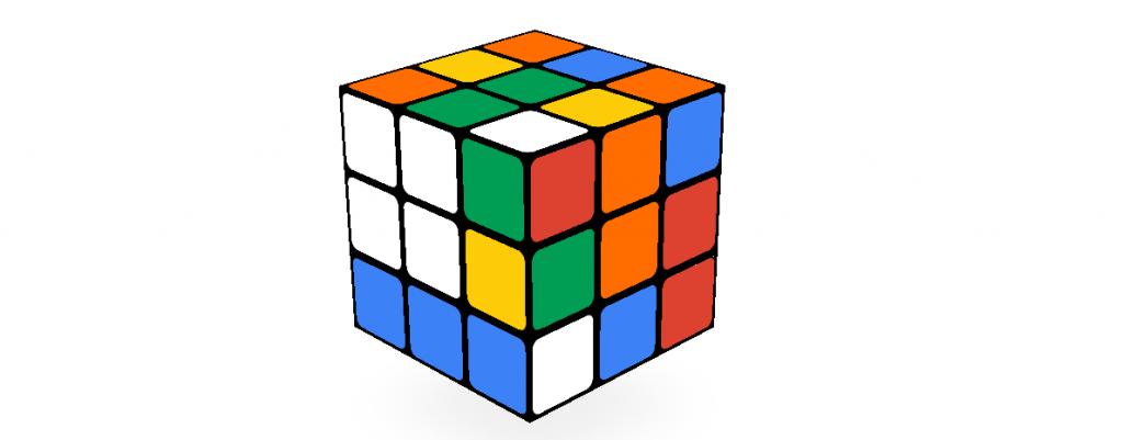 Rubik's Cube Google Doodle Game